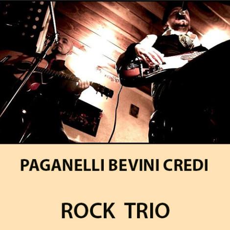 Paganelli Bevini Credi Rock trio